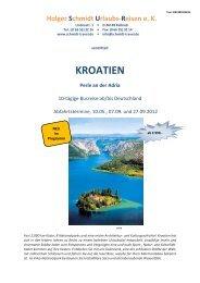 KROATIEN - Schmidt Travel