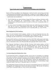 Umsatzsteuer – Neue Urteile zum Vorsteuerabzug