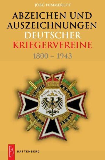 Titel Kriegervereinsauszeichnungen_Umschlag 24 ... - Gietl Verlag