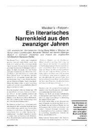 Ein literarisches Narrenkleid aus den zwanziger Jahren - Forum ...