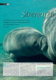 Sirenen in Gefahr (Seiten 26-29) - Natürlich