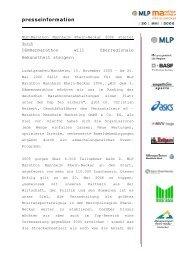 presseinformation - mlp marathon mannheim rhein-neckar :: home