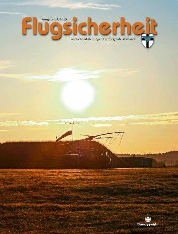 Ausgabe 01/2013 Fachliche Mitteilungen für fliegende ... - Luftwaffe