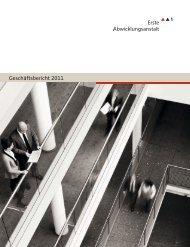 Geschäftsbericht 2011 - Erste Abwicklungsanstalt