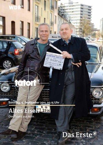 Sonntag, 4. September 2011, 20.15 Uhr Altes Eisen - WDR.de