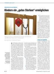 pãdiatrische palliativmedizin - Deutsch - Tschechische Gesellschaft ...