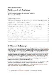 Alexander Deichsel: Einführung in die Soziologie.