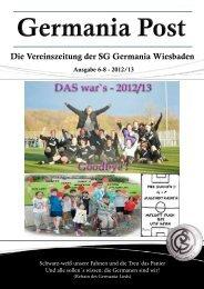 Germania Post - SG Germania Wiesbaden