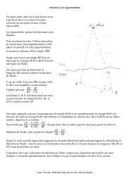 Initiation à la trigonométrie. Un observateur situé sur la ... - Primaths