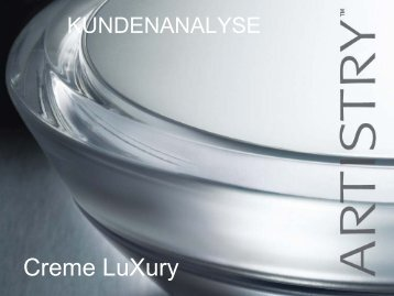 Creme LuXury - Schauer Vertriebs GmbH