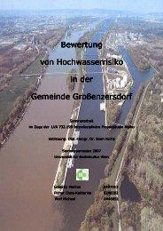 Bewertung Bewertung von Hochwasse von Hochwasserrisiko in der ...