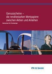 Genussscheine - Raiffeisenbank Elsavatal eG