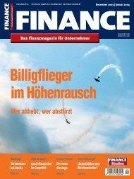 Finance - Dezember 2003 / Januar 2004 - Klein & Coll.