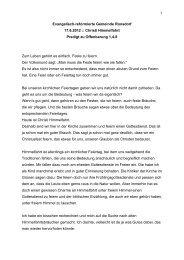 Pred Off 1,4-8 Himmelfahrt.pdf - Evangelisch-reformierte Gemeinde ...
