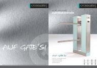 zutrittskontrolle - Crossgate Systems