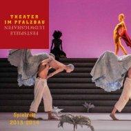 Spielzeit 2013/2014 - Theater Im Pfalzbau