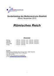 Römisches Reich - Medienzentrum Bielefeld