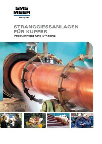 StranggieSSanlagen FÜr KUPFer - SMS Meer GmbH