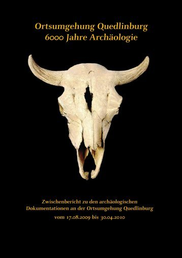 Ortsumgehung Quedlinburg - Landesamt für Denkmalpflege und ...