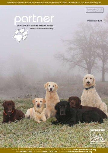 Dezember 2011 - Partner-Hunde Österreich