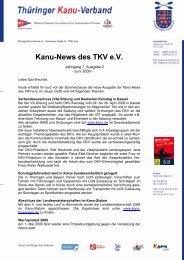 Ausgabe 2 - Thüringer Kanu-Verband e.V.