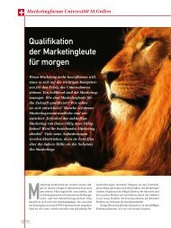 Qualifikation der Marketingleute für morgen (PDF) 2/11 - marke41