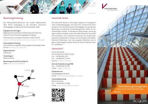 Zulassungsfreie Studiengange An Der Uni Vechta Studis Online