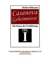Casanova Geheimnisse- Die Kunst der ... - Frauen Verführen