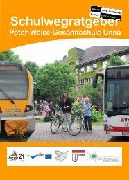 Schulwegratgeber - Peter-Weiss-Gesamtschule Unna