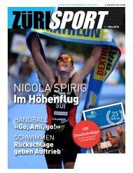 Nicola Spirig Im Höhenflug - ZSS - Zürcher Stadtverband für Sport