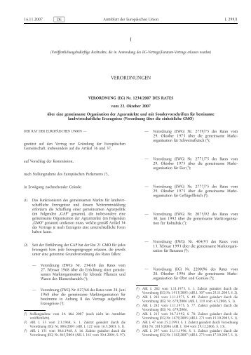 Verordnung (EG) Nr. 1234/2007 - EUR-Lex