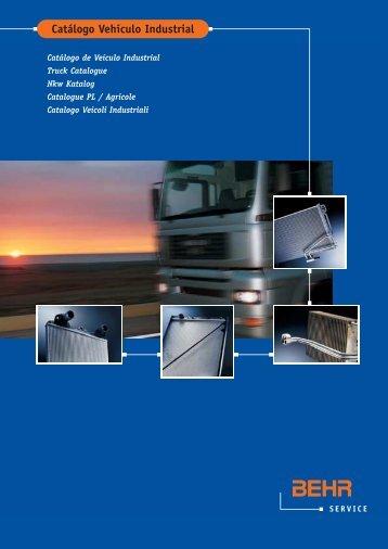 Catálogo Vehículo Industrial