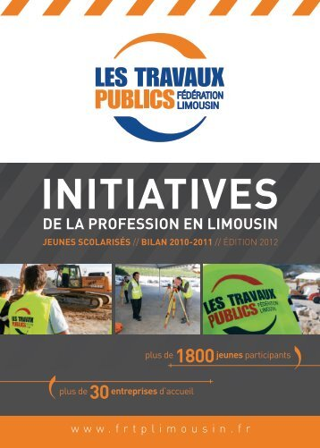 INITIATIVES - Fédération Nationale des Travaux Publics