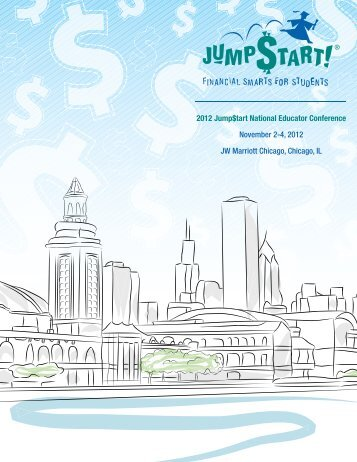 November 2-4, 2012 JW Marriott Chicago, Chicago, IL - Jump$tart