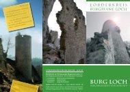 Burg Loch_090702.indd - Förderkreis Burgruine Loch