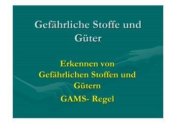GAMS-Regel