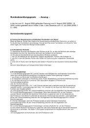 Bundesbesoldungsgesetz – Auszug –