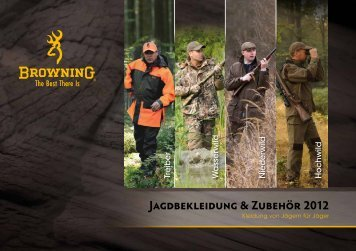 Jagdbekleidung & Zubehör 2012 - Browning