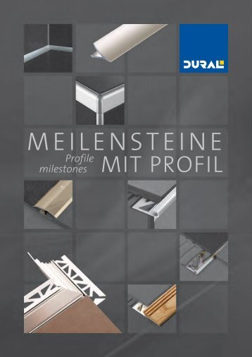 PARTNER MIT PROFIL  /  DURAL - High-Profile Partnership