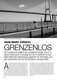 JEAN-MARC CARACCI Der Franzose ist vielleicht der europäische ...