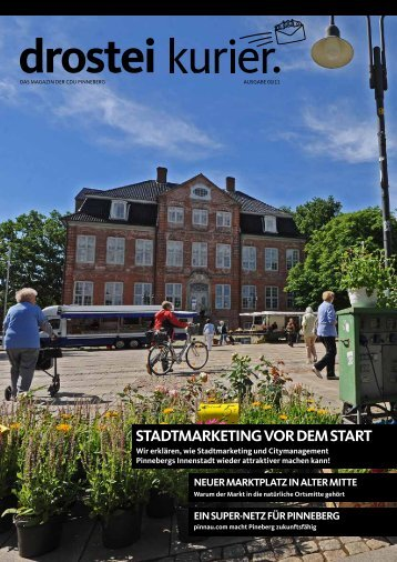 StAdtmArketing vor dem StArt - CDU Pinneberg
