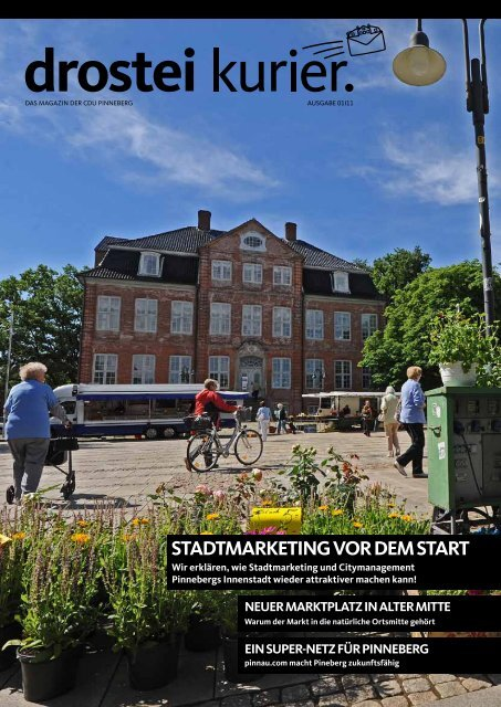 StAdtmArketing vor dem StArt - CDU Pinneberg