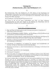 Satzung - Fischereiverein-Stickhausen eV