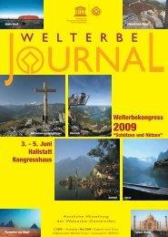 Welterbe Journal - Welterberegion Hallstatt Dachstein Salzkammergut