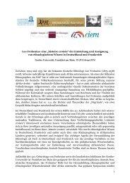 Call for Papers - Deutsche Gesellschaft für Völkerkunde