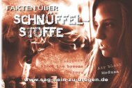 Download (PDF ca 25 MB) - Sag NEIN zu Drogen