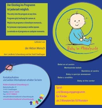 Flyer - Kinderschutzbund Schaumburg eV