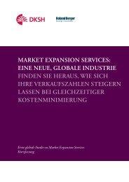 Market expansion services - Second Global Market Expansion ...