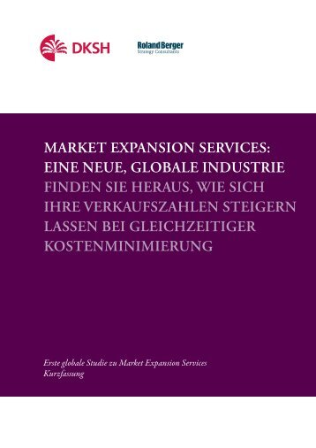 Market expansion services - Second Global Market Expansion ...