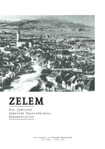 Die jüdische Gemeinde von Deutschkreutz - Misrachi Bewegung Wien